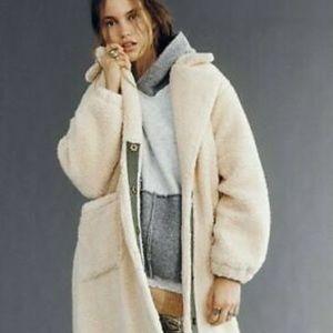 Free People Tessa Teddycoat Size XS fits size 0-6
